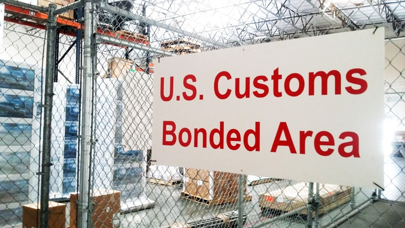 customs bonded